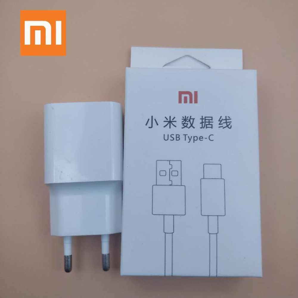 Originele xiaomi mi max 3 Fast charger Echt EU power adapter QC 3.0 quick charge Usb Type c kabel Voor 8 se 6 6x mi x 2 2 s 3 mi 8