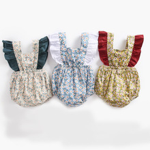 Ins Childrens Garment Girl Shivering Crash Sleeve Lin Tai Ha. Baby Bandage Spelling Color Package Fart.