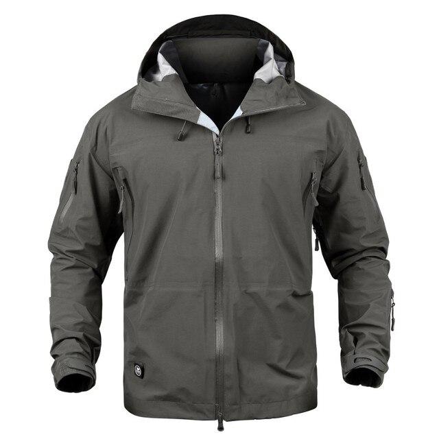 Jackets Men Winter Hard Shell Jacket Tactical Jackets US Army Military Style Hooded Coats Waterproof Windbreaker Parka