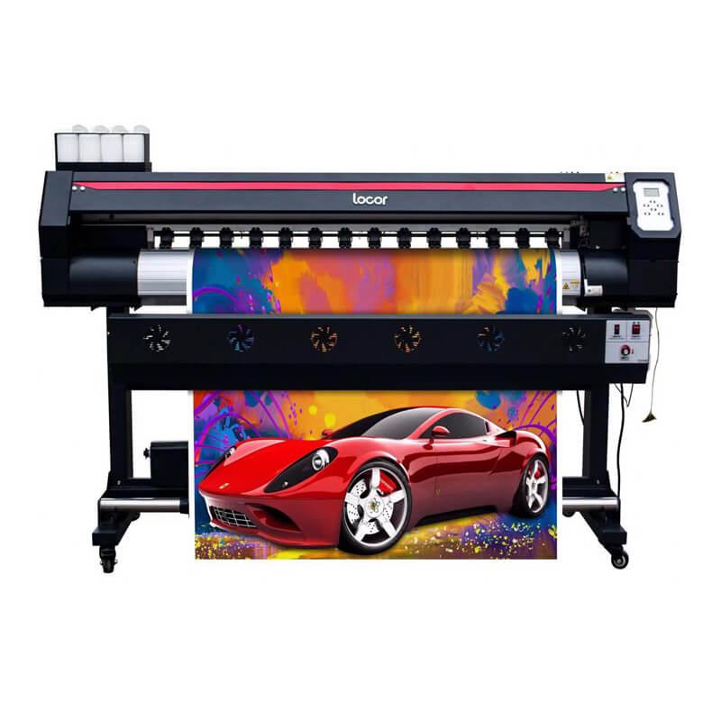 1.6m 1600mm Good Cheap Large Wide Format Plotter Digital Eco Solvent Printing Machine For Sales