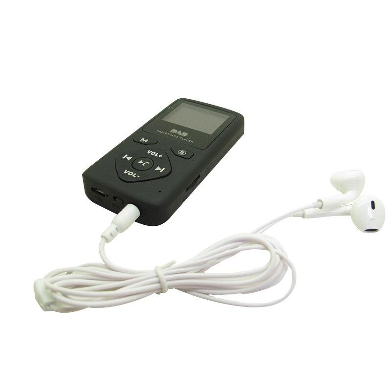 Récepteur Radio Portable numérique DAB + récepteur FM Bluetooth mains libres lecteur MP3