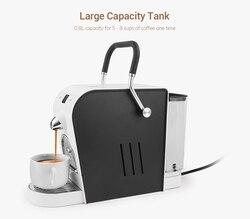 Máquina de café eléctrica de 220 L máquina de café Espresso automática de una tecla 1400 W