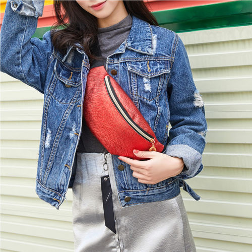 Fashion New Women PU Waist Pack Femal Belt Bag Phone Pouch Bags Brand Design Women Envelope Bags for Ladies Girls
