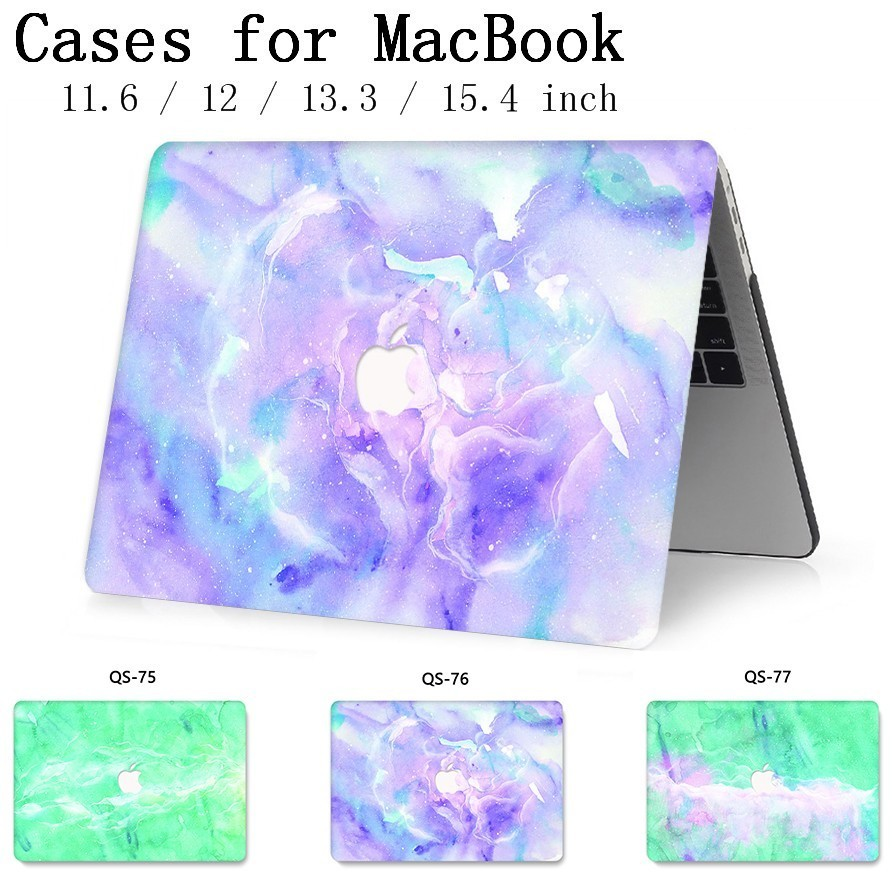 For Notebook MacBook Laptop Case Sleeve Bag For MacBook Air Pro Retina 11 12 13 3 15 4 Inch With Screen Protector Keyboard Cover in Laptop Bags Cases from Computer Office