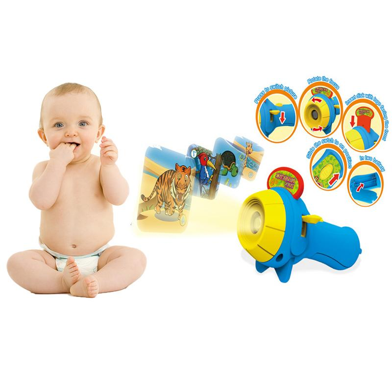 Lampe de poche étoile pour enfants lampe de Projection brillant éducation précoce jouet bébé sommeil histoire projecteur jouet préscolaire