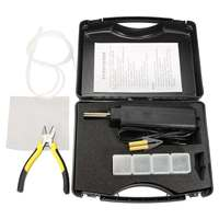 Car Auto Tool Hot Stapler Plastic Repair Kit Bumper for Fender Fairing Weld