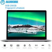 ALLDOCUBE Thinker I35 Laptop Ultrabook 13.5 Windows 10 Notebook Intel Kabylake 7Y30 8GB 256GB Notebook Fingerprint Home Version