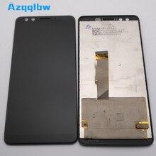 Azqqlbw ل HTC U12 زائد U12 + شاشة الكريستال السائل شاشة رقمية تعمل بلمس الزجاج الجمعية ل HTC U12 زائد U12 عرض إصلاح أجزاء