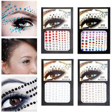 Rhinestone Sticker Tattoo Stick Drill DIY Eye Stick Drill One-time Tattoo Body Painting Beauty Products Makeup Tools