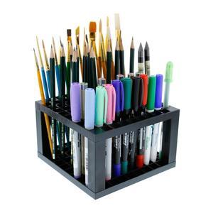 Image 2 - Многофункциональные держатели для ручек, Коробка Для Хранения ручек с 96 отверстиями, чехол для карандашей, настольный органайзер, офисные принадлежности