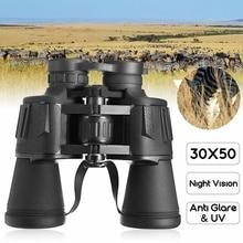 SGODDE NEW 30×50 Optical Telescope Night Vision Binoculars 1000M Powerful Optics Binoculars HD Outdoor Hunting Camping