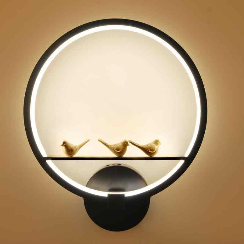 Lighting Candeeiro Parede Bathroom Tete Lit Deco Maison Lampara De Pared Interior Led Wandlamp Luminaire Wall Bedroom Light