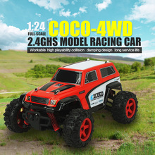2019 Hot Sales Original SUBOTECH BG1510D 1 : 24 2.4GHz Full Scale High Speed 4WD Off Road Racer Truck Car Model Off-Road Vehicle