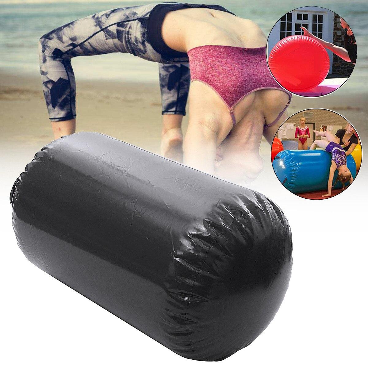 Gofun AirTrack Air cylindre Tumbling piste gymnastique exercice colonne gonflable Gym inversé Backflip entraînement enfants en sécurité - 6