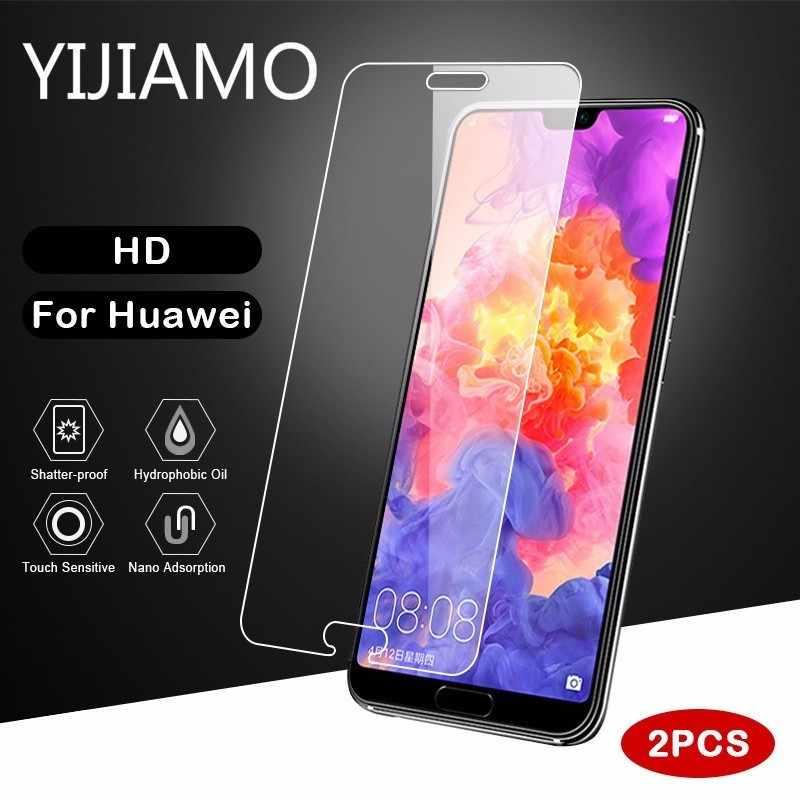 2.5D Temperli Cam Için Huawei Onur 10 9 Lite 7 7A Pro 8 8X 6A 6X Lite Çalıştır Görünümü Koruyucu temperli Cam Ekran Koruyucu