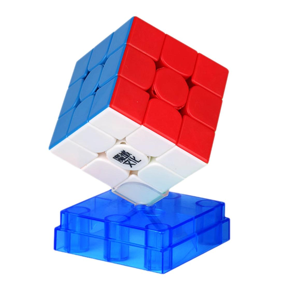 YJ8202 Moyu WeiLong WRM 3x3x3 Cube magique magnétique Cube carré-coloré
