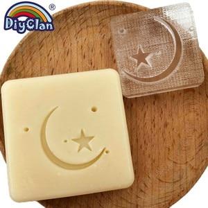 Image 2 - Transparent Moon Star Soap Stamp Islam Ramadan Handmade Stamp For Soap Making Ramazan Kareem Chapter Diy Creative Gift