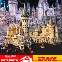 71043 Moc Legoings 2018 ULTIMATE Гарри Magic Pott Хогвартс замок школы Строительный набор Конструкторы кирпичи игрушечные лошадки