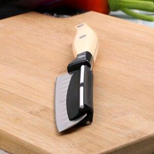 Image 3 - 나이프 샤프닝 앵글 가이드 주방 나이프 숫돌 빠른 정밀 샤프닝 가제트 주방 도구 내구성 도자기 스트립