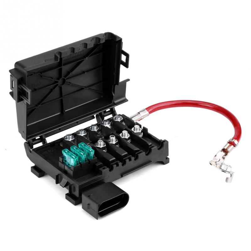 Car Battery Fuse Box Holder Terminal for VW Jetta Golf Mk4 Beetle 99 04 1J0937550A Auto Replacement Parts