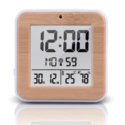 Беспроводной цифровой термометр датчик температуры и влажности в помещении метеостанция