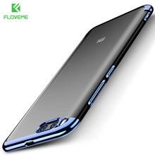 FLOVEME Soft Silicon Plain Transparent Phone Case For Xiaomi 6 Ultra Thin Clear Cover OPPO R9S Plus Coque Fundas Cases