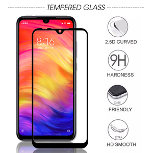 2PCS/Pack redmi7 glass for xiaomi redmi note 7 pro note7 pro note 7pro note7pro glass screen protector redmi note 7s note7s glas