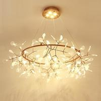 Casa светодиодные деко Chambre Fille светильник Suspendu блеск E Pendente для Sala обеденный стол Lampara Colgante подвесной