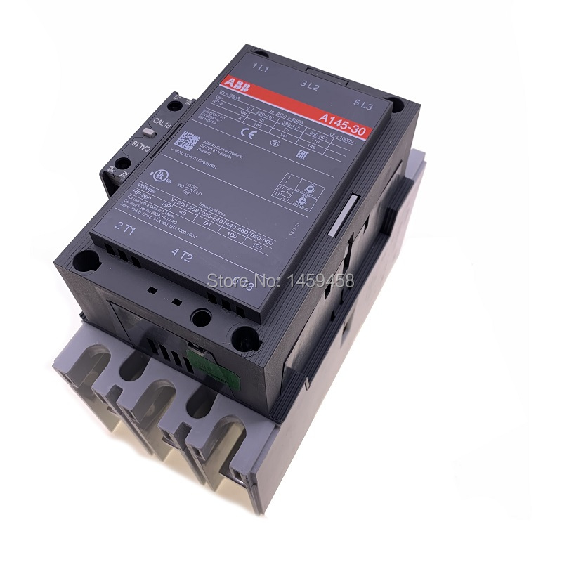 Free shipping high performance good quality ABB contactor A145-30-11 AC110V used for screw air compressor parts