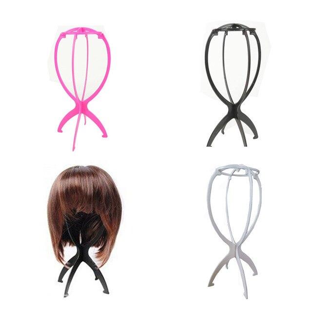 Support de perruque magique en plastique   Polyvalent, usage polyvalent, pliable, outils de perruque en plastique souple, 1 pièce/lot