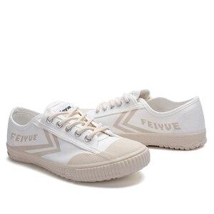 Image 5 - Dafufeiyue Canvas Schoenen Vintage Gevulkaniseerd Mannen En Vrouwen Mode Nieuwe Sneakers Comfortabele Antislip Duurzaam Schoenen 794