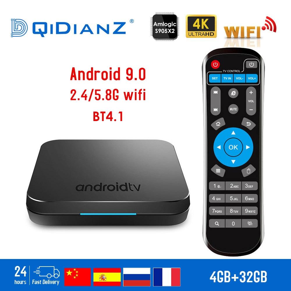 KM9 Smart TV box Android 9 0 4GB 32GB Amlogic S905X2 Quad Core 2 4G 5GHz
