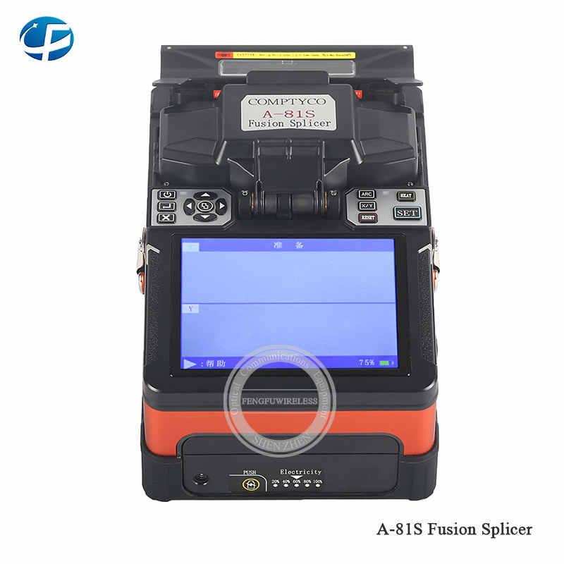 2018, новый продукт A-81S оранжевый сварочный аппарат FTTH полностью автоматический волокно оптический горячая Распродажа a81s