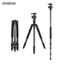 """Andoer 64 """"Lichtgewicht Reizen Carbon Statief Professionele Monopod met Balhoofd voor Digitale DSLR Video Camera Camcorder"""