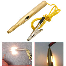 цена на Treyues 1PCS 6-12V Car Auto Voltage Electrical Tester Circuit Test Pen Pencil With Probe