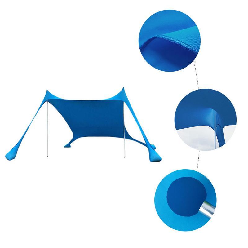 Home Awning Light Shading Tent Sandbag Anchor 4 Free Nail UV Protection Outdoor Travel EquipmentHome Awning Light Shading Tent Sandbag Anchor 4 Free Nail UV Protection Outdoor Travel Equipment