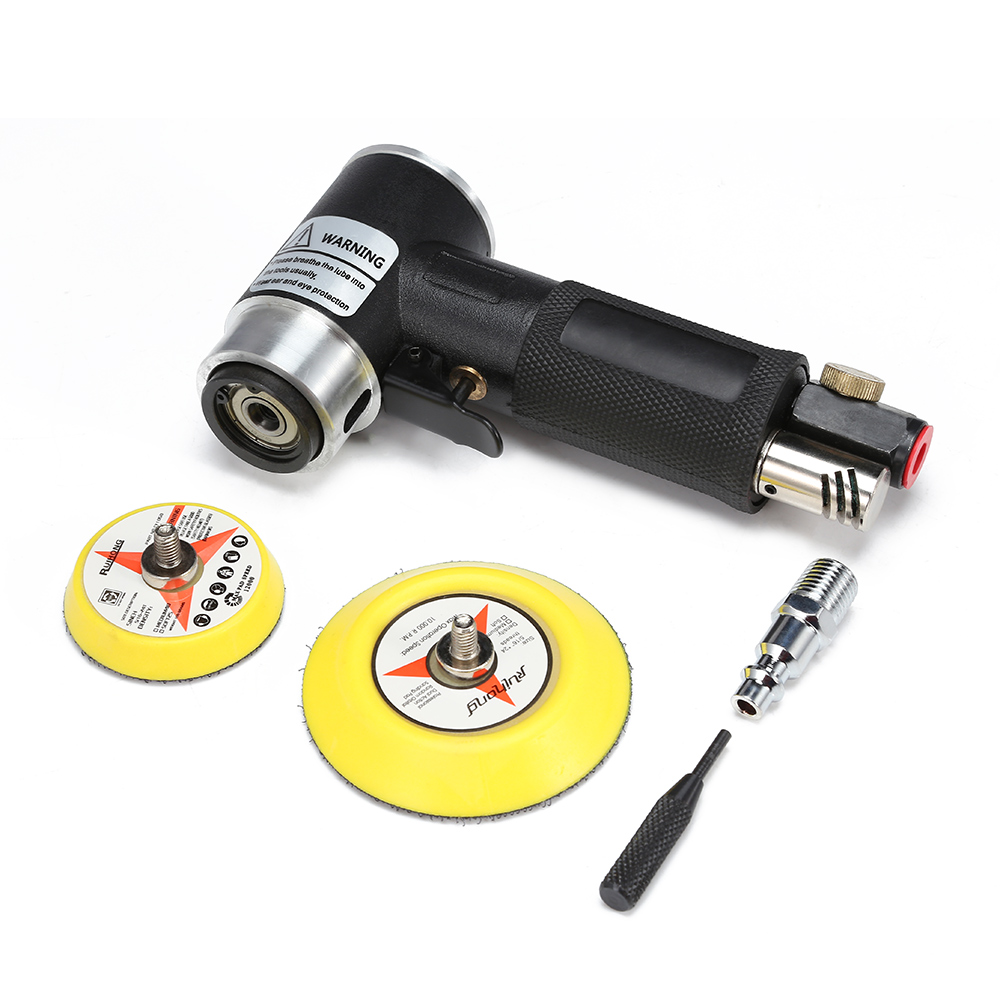2 3 Inches Pneumatic Air Eccentric Pneumatic Sander Grinder Polishing Tool 15000rpm Low Noise for Car