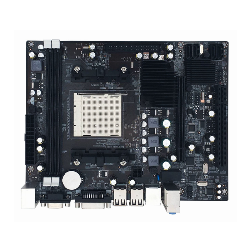 Jia Huayu A780 Practical Desktop PC Computer Motherboard Mainboard AM2 AM3 Supports DDR2 MemoryJia Huayu A780 Practical Desktop PC Computer Motherboard Mainboard AM2 AM3 Supports DDR2 Memory