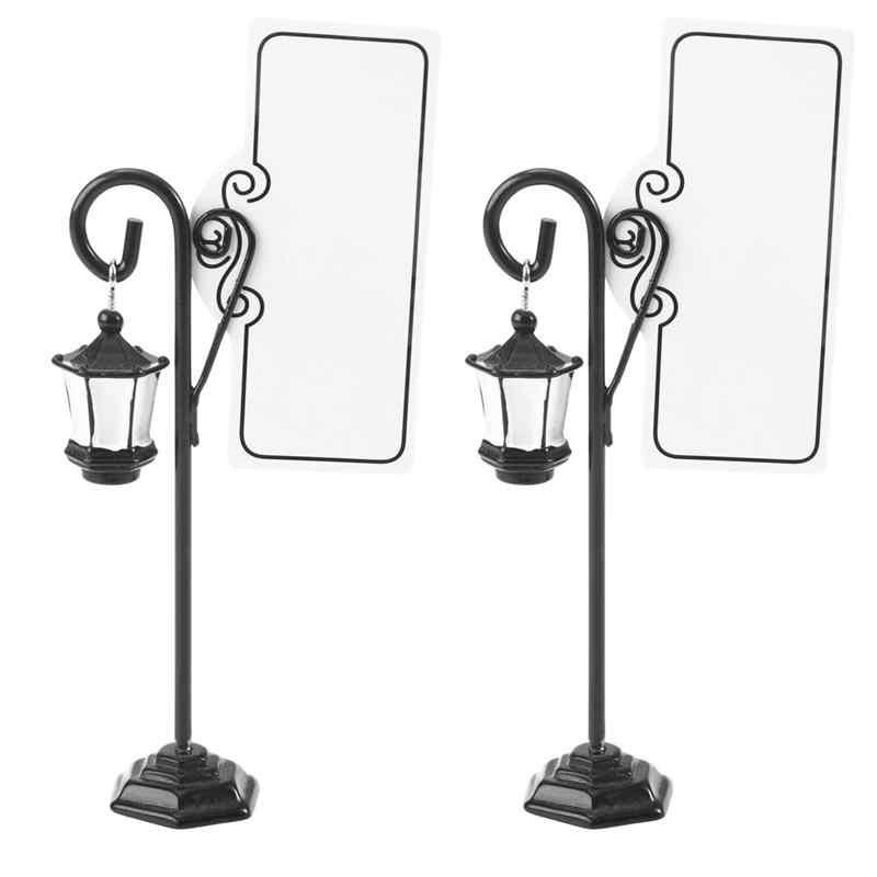 2 шт место карты дорога в форме лампы подставка для картин Note клип сувенир для свадебной вечеринки