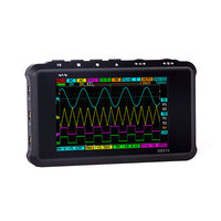 KKMOON DS213 MINI Digital Oscilloscope 4 Channel 100MS/S LCD Display USB Oscilloscopio Pocket Sized Storage Oscilloscope