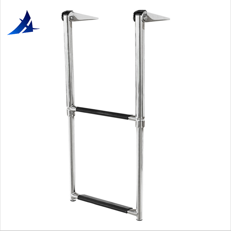 Boat Accessories Marine Marine Stainless Steel Telescoping 2 Step Ladder Upper Swim Platform Boat Yacht