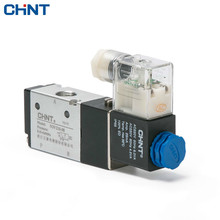 CHINT Pneumatic Valve Two Position Three Electromagnetism Normally Open AC220V Reversing Often Close DC24V