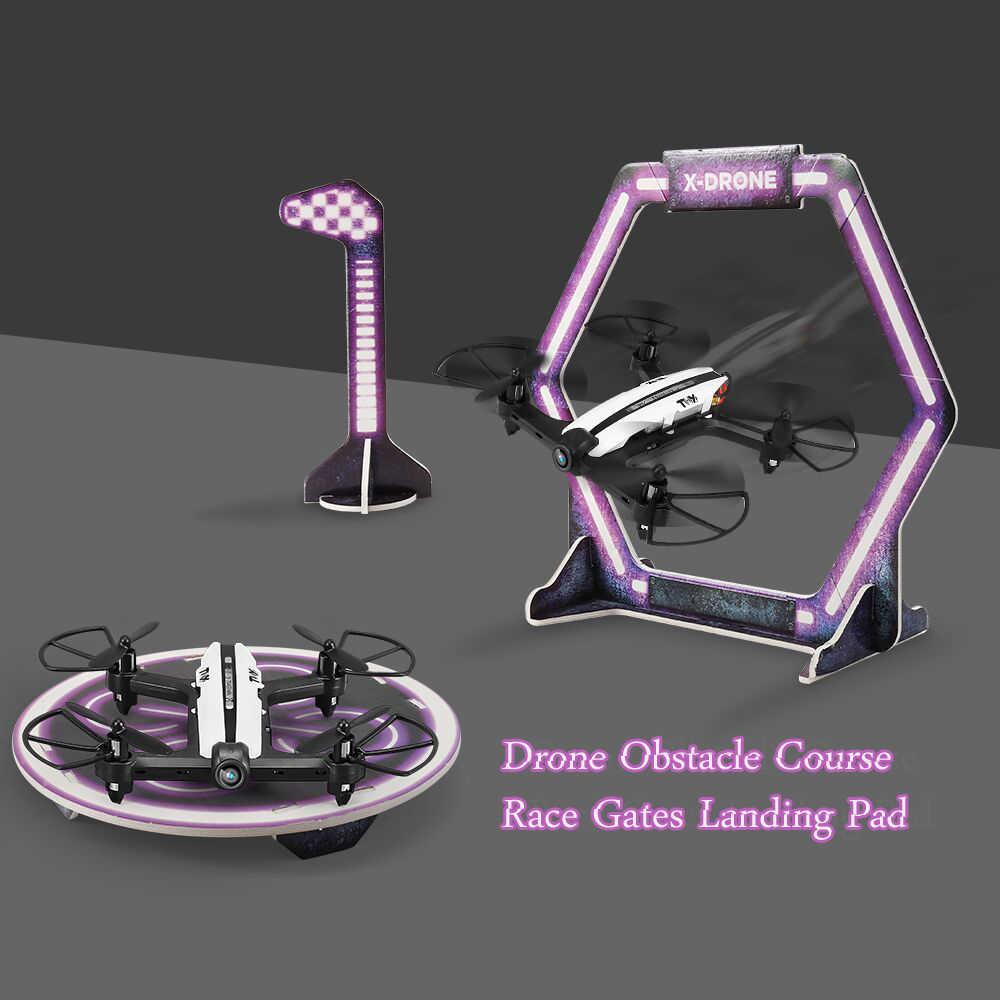 Drone carrera obstáculos carrera puertas Drone plataforma de aterrizaje portátil para RC FPV Racing Drone DIY Accesorios