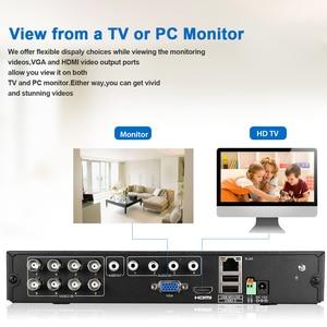 Image 5 - 1pcs מעקב וידאו מקליט DVR 8CH 1080P 1080N HDMI H.264 אבטחת CCTV וידאו מקליט ענן DVR 8 וידאו למצלמת אבטחה