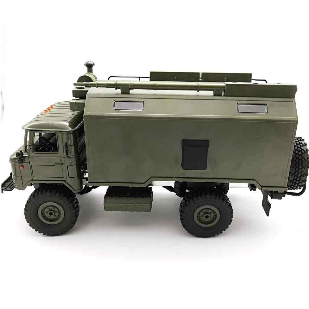Nieuwkomers WPL B24 ZH GASS 66 1/16 2.4G 4WD Rc Auto Militaire Vrachtwagen Rock Crawler RTR Speelgoed Voor kinderen Speelgoed Kinderen Gift