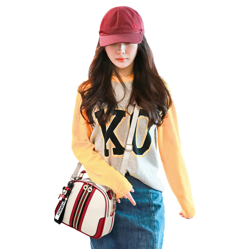 Witfox Panelled shoulder bags for women fashion street wear young girls handbags 2019 new styleWitfox Panelled shoulder bags for women fashion street wear young girls handbags 2019 new style