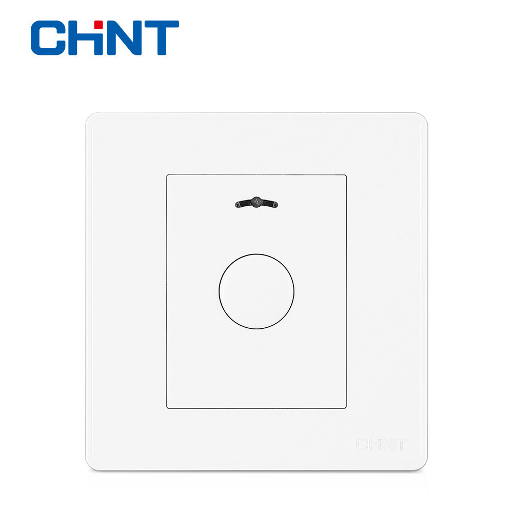 CHINT Touch Wall Switch Wall Switch Socket NEW2D Ivory White Panel Touch Button Delay Switch