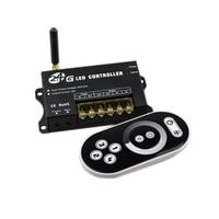 Led Controller Dimmer DC12V 24V Single Color Led Strip Dimmer 2.4G Wireless Dimmer Remote Control 4 Group 5050 2835 Strip lights