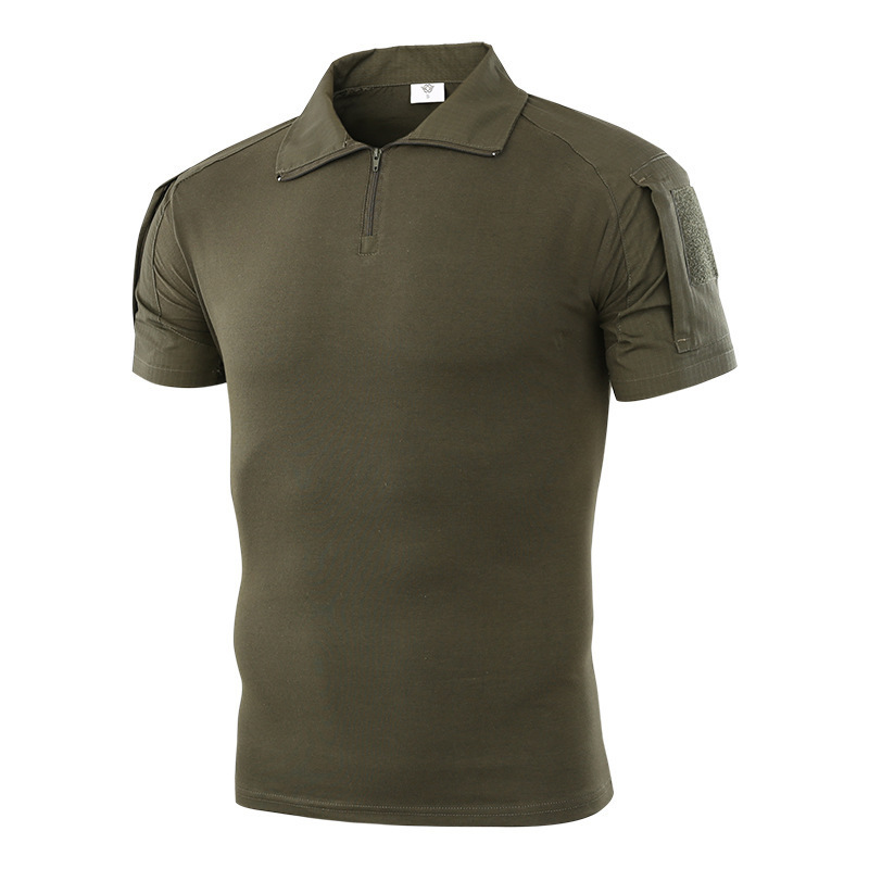 Shirt Uniform Combat Army-Training Tactical Outdoor Camouflage Camping Short-Sleeve Airsoft