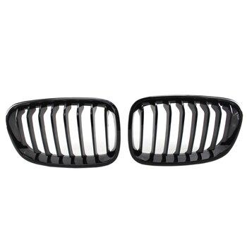 Яркая черная передняя решетка для гриля для Bmw F20 F21 1 серия 2011-2014